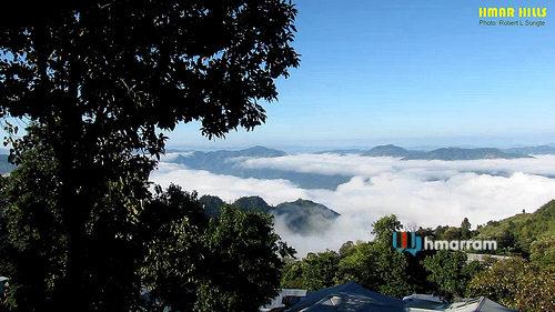 Lungthulien village, Hmar Hills