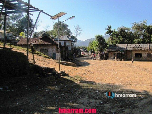 Hmarkhawpui village (Sipuikawn) in Hmar Hills