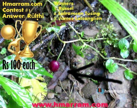 Hmarram Photo Contest #1 Result.