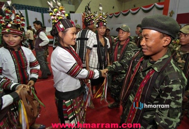HPC-D Assam Unit Surrender Photo
