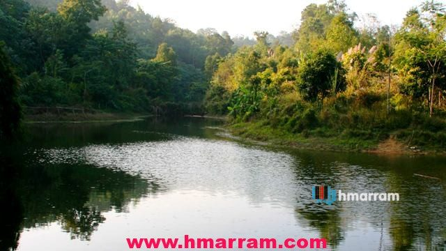 Legendary Hringtuinek River in Hmar Hills