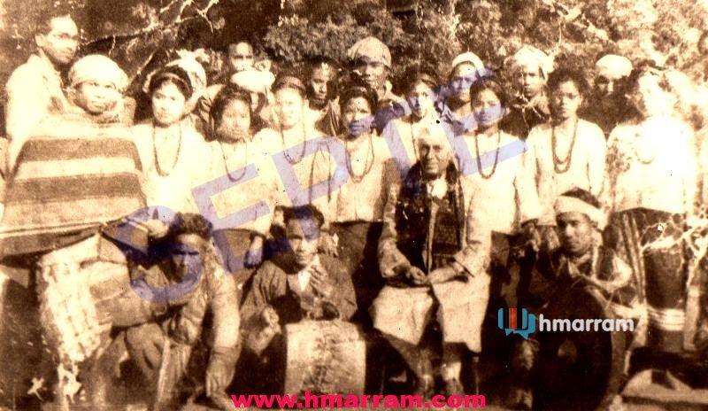 1959 Hmar Cultural Troupe: India's Republic Day in New Delhi