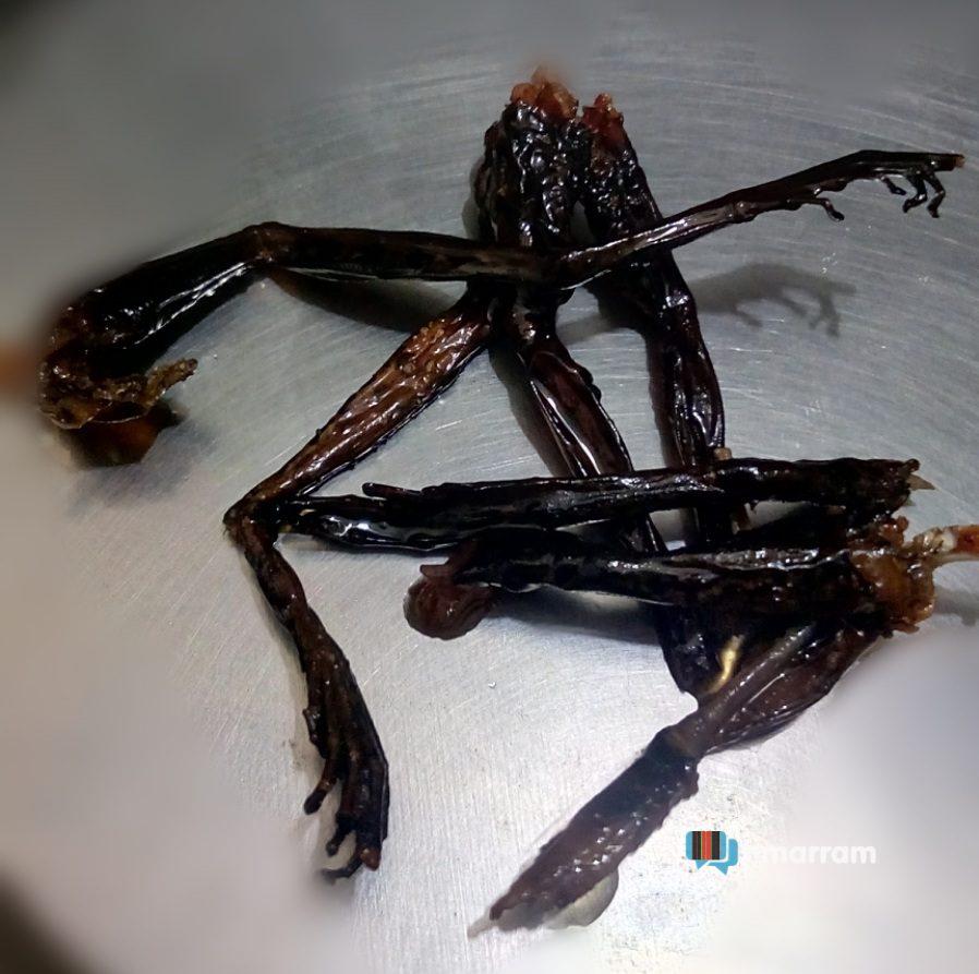 Usai sa (frog 🐸 meat)