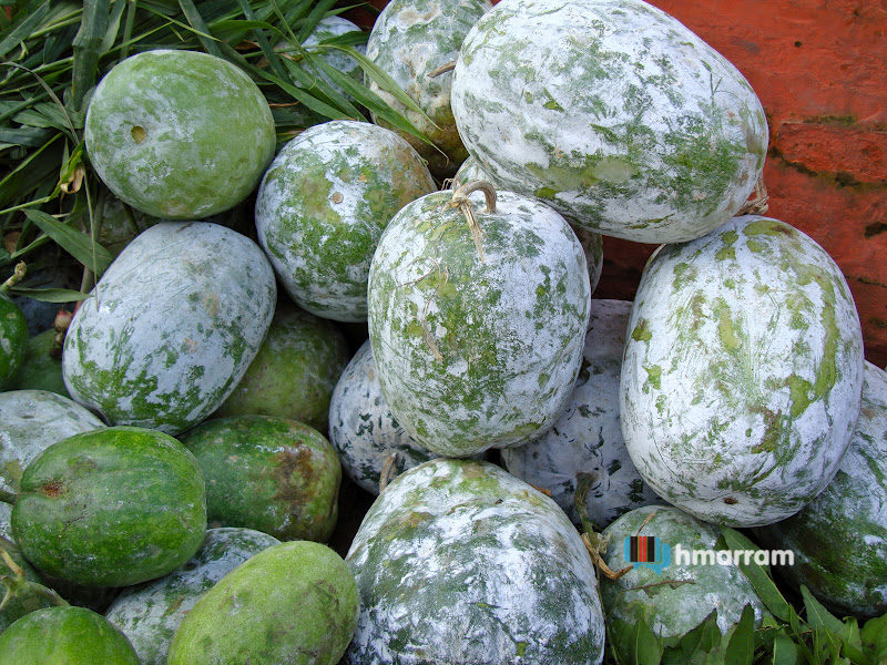 Maibal is Winter Melon or White gourd