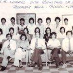 Hmar Students' Association leaders and Mizoram ministers 1981