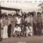 Hmar Students' Association leaders with leaders of Mizo Zirlai Pawl & Mizo Students Union, Aizawl, 1981
