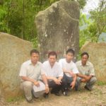 Hmar megaliths at Chawngtlai in Mizoram